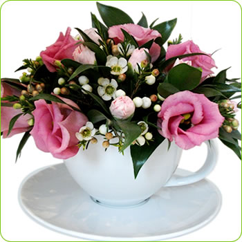 Place your Order -  TeaCup Arrangement